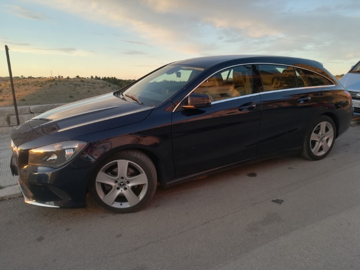 Mercedes CLA SB 180D BUSINESS automatic 7G anno 2017